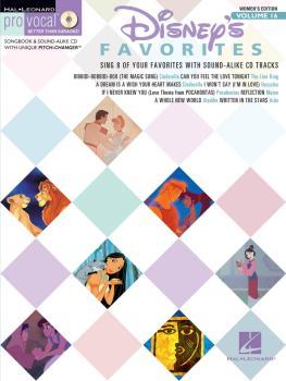 Disney Favorites: Pro Vocal Women's Edition Volume 16 (HL-00740342)