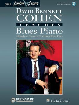 David Bennett Cohen Teaches Blues Piano (HL-00841084)
