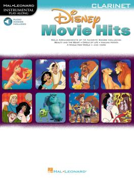 Disney Movie Hits for Clarinet: Play Along with a Full Symphony Orches (HL-00841421)