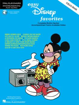 Easy Disney Favorites: Cello Play-Along Pack (HL-00841482)