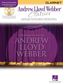 Andrew Lloyd Webber Classics - Clarinet: Clarinet Play-Along Book/CD P (HL-00841826)