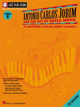 Antonio Carlos Jobim and the Art of Bossa Nova: Jazz Play-Along Volume (HL-00843001)