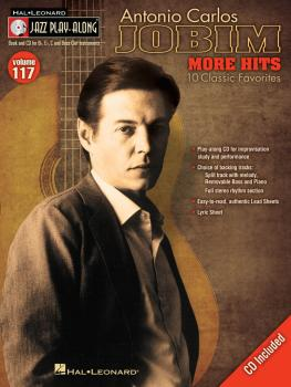 Antonio Carlos Jobim - More Hits: Jazz Play-Along Volume 117 (HL-00843166)