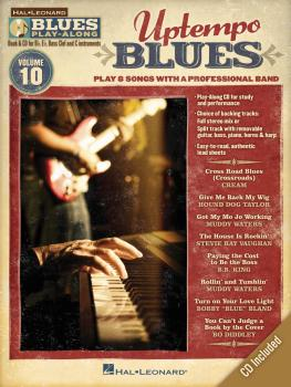 Uptempo Blues: Blues Play-Along Volume 10 (HL-00843179)