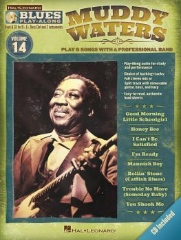 Muddy Waters: Blues Play-Along Volume 14 (HL-00843206)