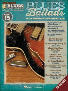 Blues Ballads: Blues Play-Along Volume 15 (HL-00843207)