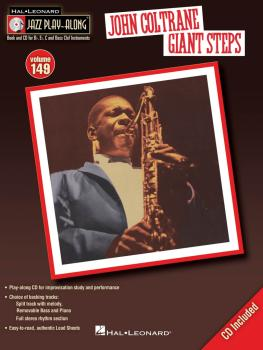 John Coltrane - Giant Steps: Jazz Play-Along Volume 149 (HL-00843234)