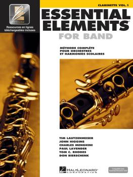 Essential Elements EE2000 Clarinet B-flat (French Edition) (HL-00860209)