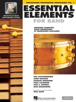 Essential Elements for Band - Percussion (French Edition) (HL-00860217)