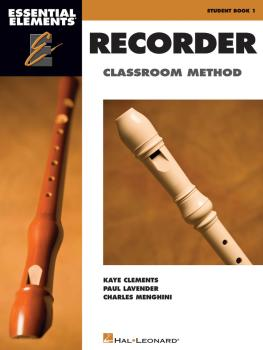 Essential Elements for Recorder Classroom Method - Student Book 1 (Boo (HL-00860560)