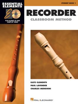 Essential Elements for Recorder Classroom Method - Student Book 1 (Boo (HL-00860561)