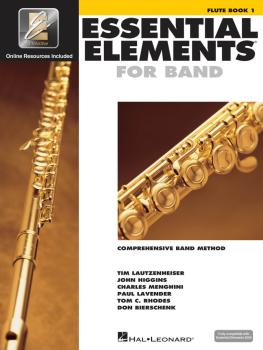 Essential Elements for Band - Flute Book 1 with EEi (HL-00862566)