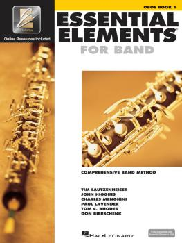 Essential Elements for Band - Oboe Book 1 with EEi (HL-00862567)