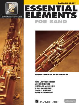 Essential Elements for Band - Bassoon Book 1 with EEi (HL-00862568)