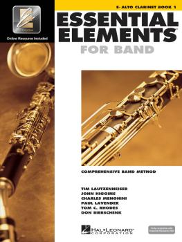 Essential Elements for Band - Eb Alto Clarinet Book 1 with EEi (HL-00862570)