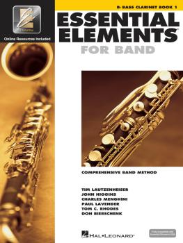 Essential Elements for Band - Bb Bass Clarinet Book 1 with EEi (HL-00862571)