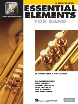 Essential Elements for Band - Bb Trumpet Book 1 with EEi (HL-00862575)