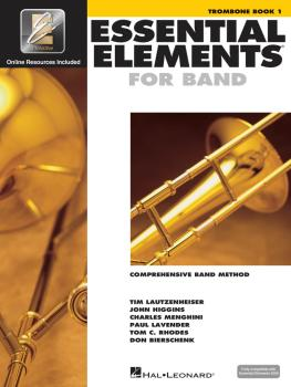 Essential Elements for Band - Trombone Book 1 with EEi (HL-00862577)