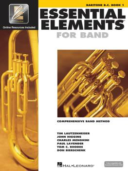 Essential Elements for Band - Baritone B.C. Book 1 with EEi (HL-00862578)