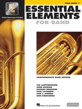 Essential Elements for Band - Tuba Book 1 with EEi (Tuba in C B.C.) (HL-00862580)
