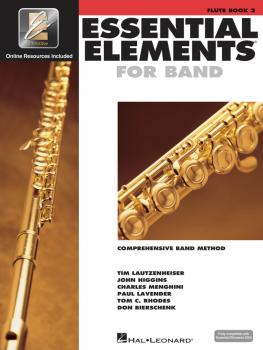 Essential Elements for Band - Book 2 with EEi (Flute) (HL-00862588)
