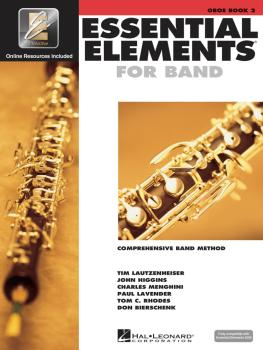 Essential Elements for Band - Book 2 with EEi (Oboe) (HL-00862589)