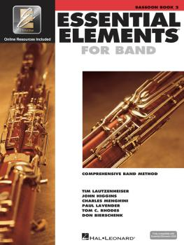 Essential Elements for Band - Book 2 with EEi (Bassoon) (HL-00862590)