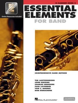 Essential Elements for Band - Book 2 with EEi (Bb Clarinet) (HL-00862591)