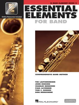 Essential Elements for Band - Book 2 with EEi (Bb Bass Clarinet) (HL-00862593)