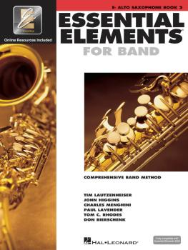 Essential Elements for Band - Book 2 with EEi (Eb Alto Saxophone) (HL-00862594)