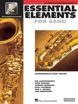 Essential Elements for Band - Book 2 with EEi (Bb Tenor Saxophone) (HL-00862595)