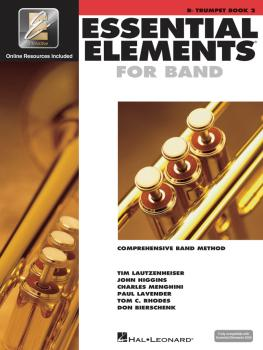 Essential Elements for Band - Book 2 with EEi (Bb Trumpet) (HL-00862597)