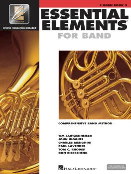 Essential Elements for Band - Book 2 with EEi (F Horn) (HL-00862598)