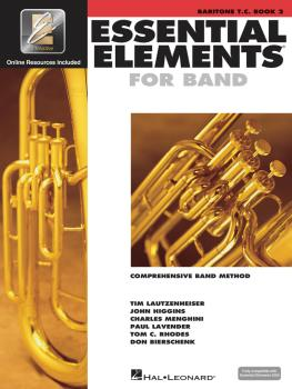 Essential Elements for Band - Book 2 with EEi (Baritone T.C.) (HL-00862601)