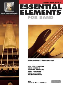 Essential Elements for Band - Book 2 with EEi (Electric Bass) (HL-00862603)