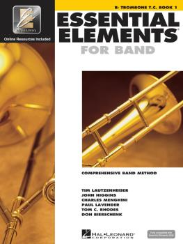 Essential Elements for Band - Book 1 with My EE Library (Bb Trombone T (HL-00862613)