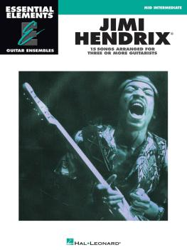 Jimi Hendrix: Essential Elements Guitar Ensembles Mid-Intermediate Lev (HL-00865013)