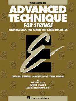 Advanced Technique for Strings (Essential Elements series) (Teacher Ma (HL-00868033)