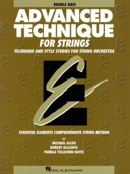 Advanced Technique for Strings (Essential Elements series) (Double Bas (HL-00868037)
