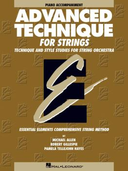 Advanced Technique for Strings (Essential Elements series) (Piano Acco (HL-00868038)