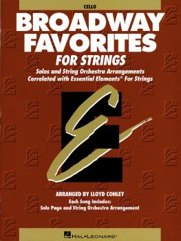 Essential Elements Broadway Favorites for Strings - Cello (HL-00868042)