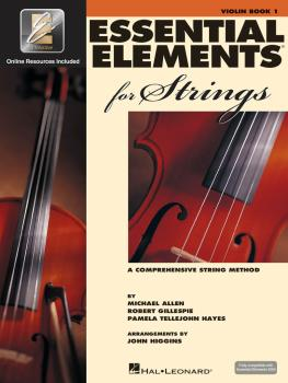 Essential Elements for Strings - Book 1 with EEi (Violin) (HL-00868049)
