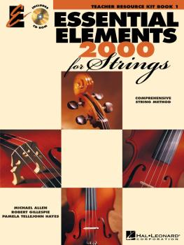 Essential Elements 2000 for Strings - Book 1 (Teacher Resource Kit) (HL-00868072)