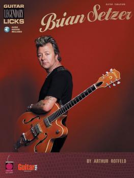 Brian Setzer - Guitar Legendary Licks (HL-02500397)