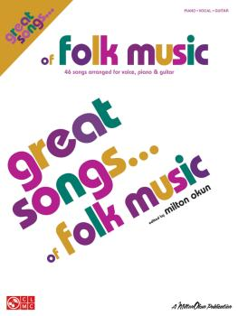 Great Songs of Folk Music: Piano/Vocal/Guitar Songbook (HL-02500997)