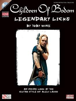 Children of Bodom - Legendary Licks: An Inside Look at the Guitar Styl (HL-02501450)