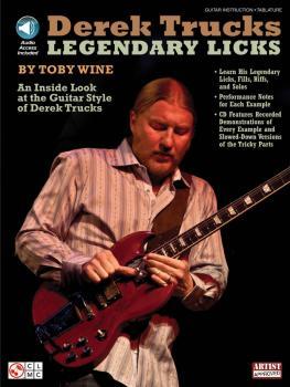 Derek Trucks Legendary Licks: An Inside Look at the Guitar Style of De (HL-02501498)