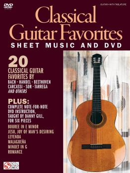 Classical Guitar Favorites (Sheet Music and DVD) (HL-02501619)