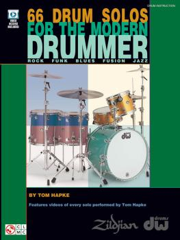 66 Drum Solos for the Modern Drummer: Rock · Funk · Blues · Fusion · J (HL-02501624)