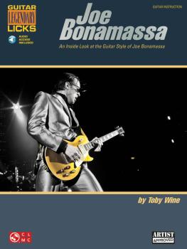 Joe Bonamassa Legendary Licks: An Inside Look at the Guitar Style of J (HL-02501654)
